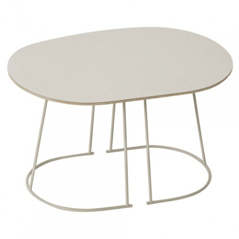 TABLE BASSE AIRY SMALL, 3 couleurs de MUUTO