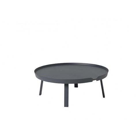 TABLE BASSE AROUND 95CM ANTHRACITE de MUUTO