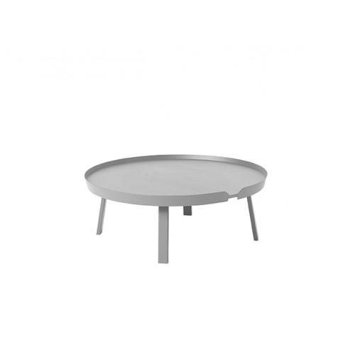 TABLE BASSE AROUND 95 CM GRIS de MUUTO