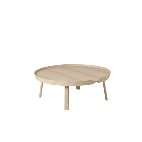 TABLE BASSE AROUND 95CM CHÊNE de MUUTO