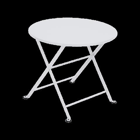 TABLE BASSE TOM POUCE BLANC COTON de FERMOB