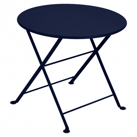 TABLE BASSE TOM POUCE BLEU ABYSSE de FERMOB