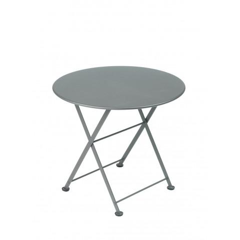 TABLE BASSE TOM POUCE GRIS ORAGE de FERMOB