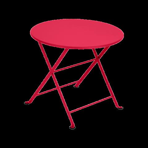 TABLE BASSE TOM POUCE ROSE PRALINE de FERMOB