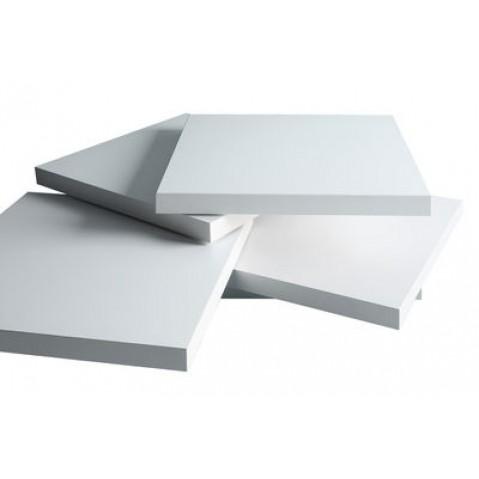 Rotor table basse Kristalia laqué blanc