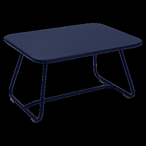 TABLE BASSE SIXTIES BLEU ABYSSE de FERMOB