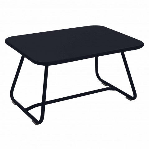 TABLE BASSE SIXTIES CARBONE de FERMOB