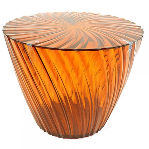 TABLE BASSE SPARKLE, 5 couleurs de KARTELL