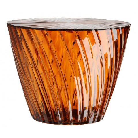 TABLE BASSE SPARKLE DE KARTELL, AMBRE
