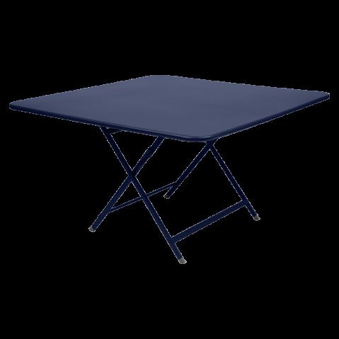TABLE PLIANTE CARACTERE BLEU ABYSSE de FERMOB