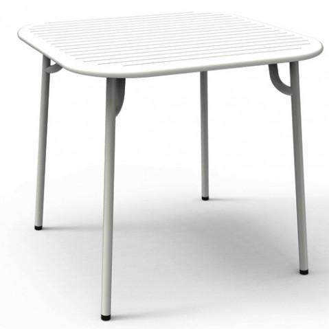 TABLE CARREE WEEK END, 4 couleurs de PETITE FRITURE
