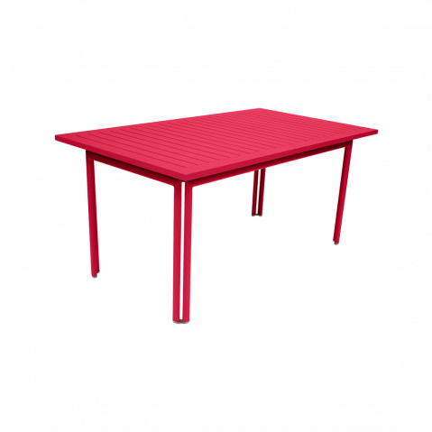 TABLE 160X80 COSTA ROSE PRALINE de FERMOB