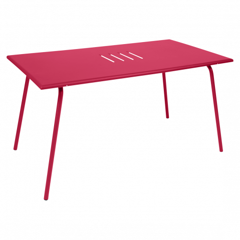 TABLE MONCEAU 146X80X74 ROSE PRALINE de FERMOB