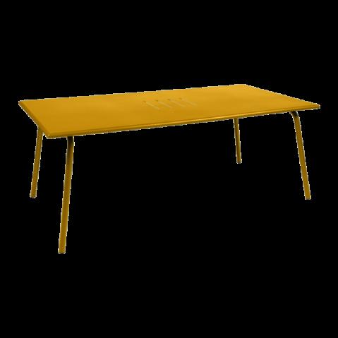 TABLE MONCEAU 194X94X74 MIEL de FERMOB
