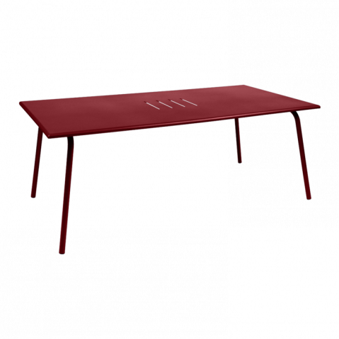 TABLE MONCEAU 194X94X74 PIMENT de FERMOB