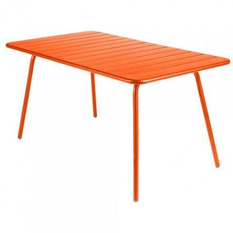 TABLE LUXEMBOURG 143X80CM, 23 couleurs de FERMOB