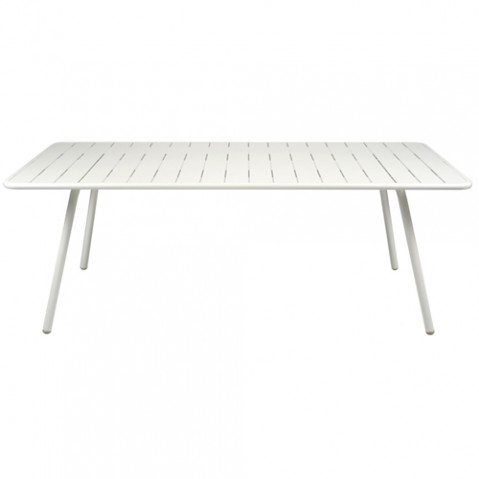 TABLE LUXEMBOURG 207X100CM, 25 couleurs de FERMOB