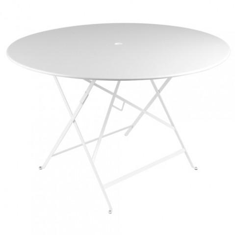 TABLE PLIANTE BISTRO 117CM, 23 couleurs de FERMOB