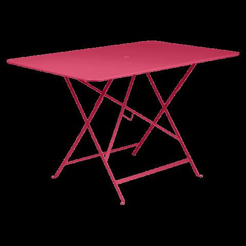 TABLE PLIANTE BISTRO 117 X 77CM ROSE PRALINE de FERMOB
