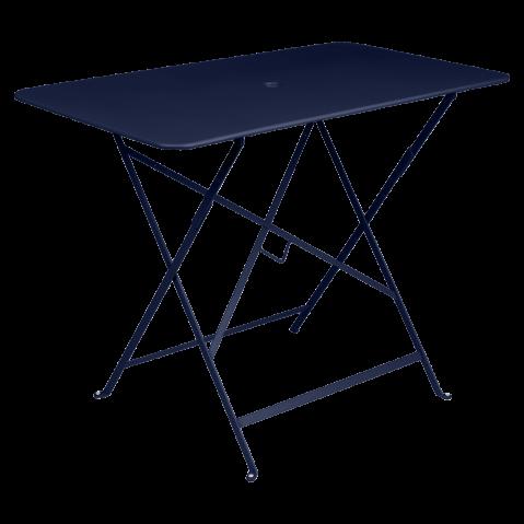 TABLE PLIANTE BISTRO 97 X 57CM BLEU ABYSSE de FERMOB