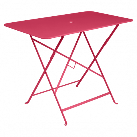 TABLE PLIANTE BISTRO 97 X 57CM ROSE PRALINE de FERMOB