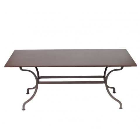 TABLE ROMANE 180CM, 24 couleurs de FERMOB