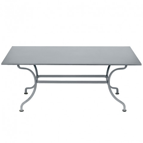 TABLE ROMANE 180CM, Gris métal de FERMOB