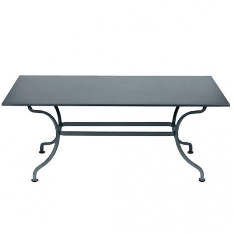 TABLE ROMANE 180CM, Gris orage de FERMOB