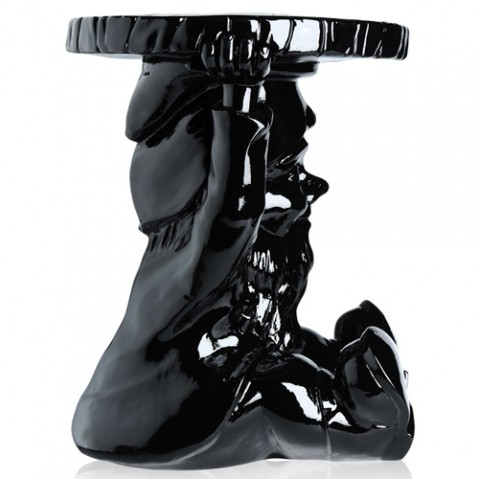 tabouret attila kartell noir