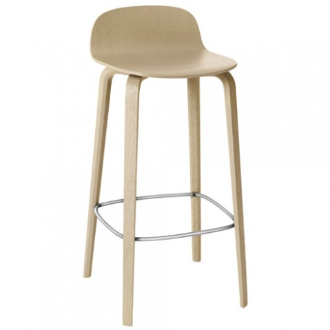 tabouret bar visu 65 muuto chene naturel