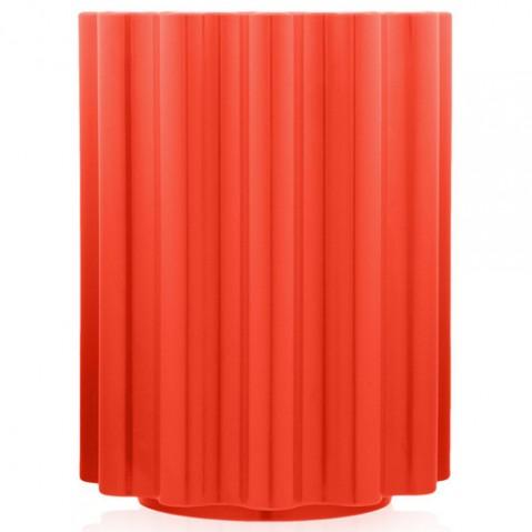 tabouret colonna kartell rouge