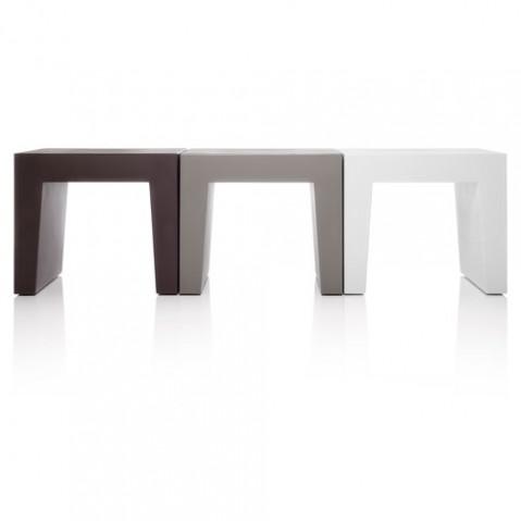 tabouret concrete seat fatboy gris clair
