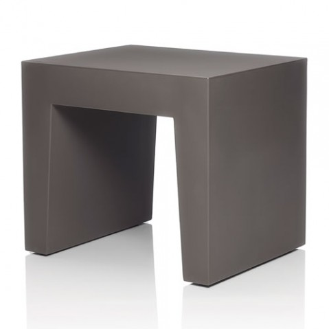 tabouret concrete seat fatboy taupe