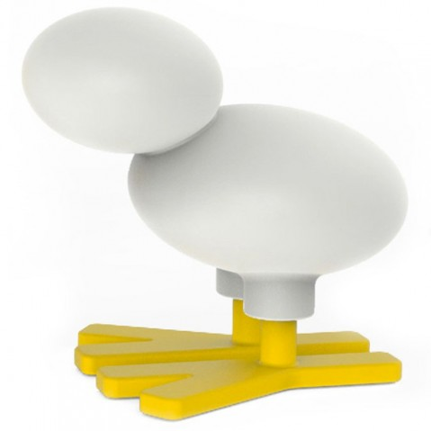 tabouret enfant happy bird small magis me too jaune blanc