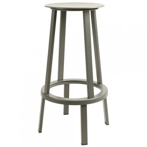 tabouret haut revolver 76 wrong for hay gris