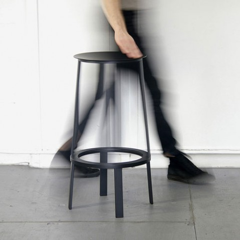 tabouret haut revolver 65 wrong for hay rouge