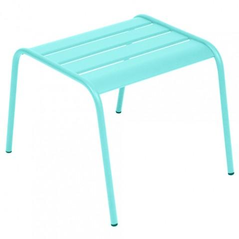 table basse monceau fermob bleu lagune