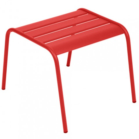 table basse monceau fermob coquelicot