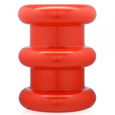 tabouret pilastro kartell rouge