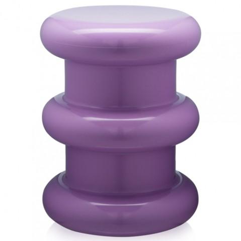 tabouret pilastro kartell violet