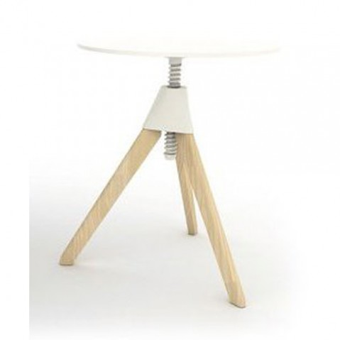 table topsy magis hetre naturel blanc