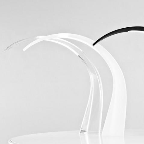 taj kartell lampe à poser design transparent