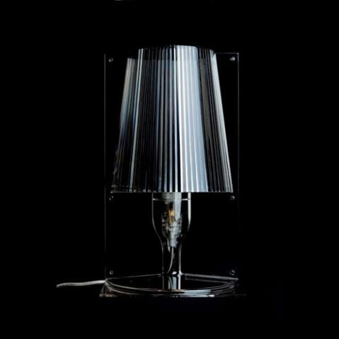 lampe a poser take fume de kartell. Black Bedroom Furniture Sets. Home Design Ideas