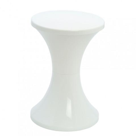Branex Design Tabouret Tam Tam Pop blanc