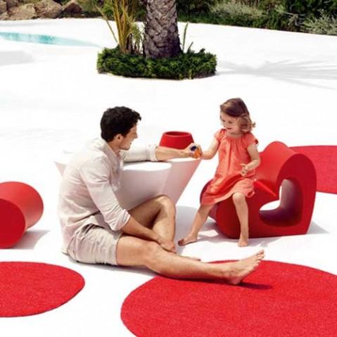tapis exterieur agatha m vondom rouge