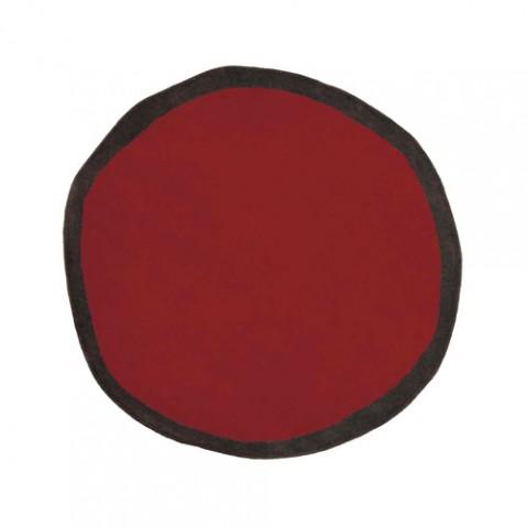 tapis aros 100 nanimarquina rouge