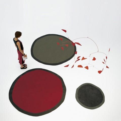 tapis aros 100 nanimarquina noir