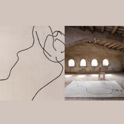 tapis chillida nanimarquina figura humana
