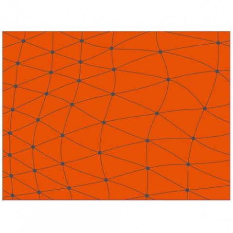 tapis exterieur koi vondom orange
