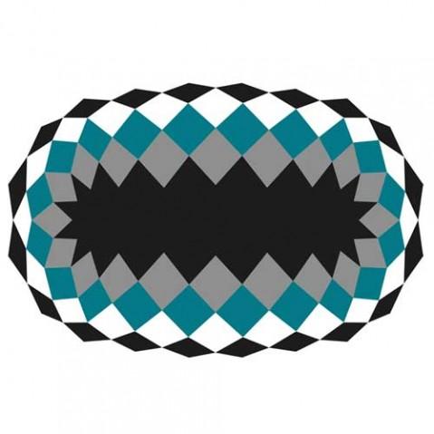 tapis marquis 300 vondom bleu
